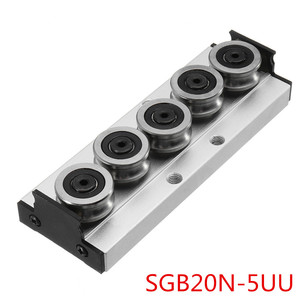 Image 4 - SGR20N 500L With SGB20N 3UU SGB20N 5UU Slide Block Built in Dual A xis Roller Linear Guide For Engraving CNC Machine New