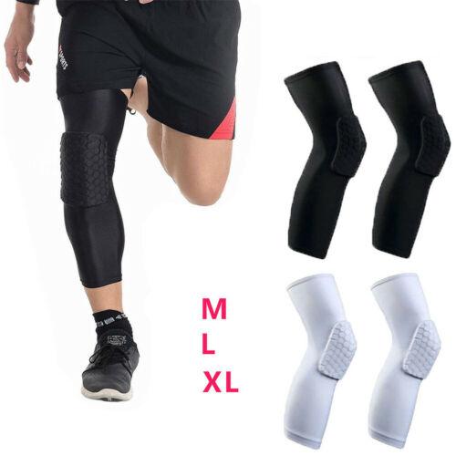 Honeycomb Pad Basketball Knee Crashproof Leg Outdoor Sports Protector Support Brace