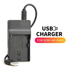 Battery-Charger Sony-Camera Alpha SLT-A57 A100 NP-FM500H for Slt-a57/A58/A65/.. BC-VM10