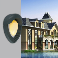 5pcs Outdoor Led Wall Light 6w 600lm Ac85 265v Garden Waterproof Ip65 Courtyard Balcony Villa Exterior Wall Decoration Lamp