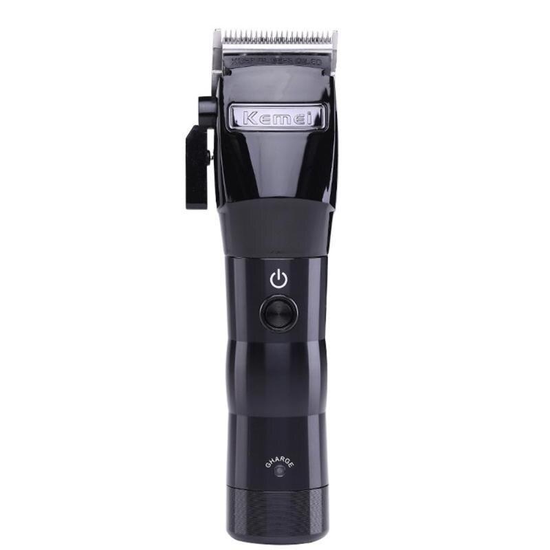 Kemei professionnel tondeuse à cheveux électrique puissant sans fil tondeuse à cheveux Machine de coupe coupe de cheveux tondeuse outils de coiffure