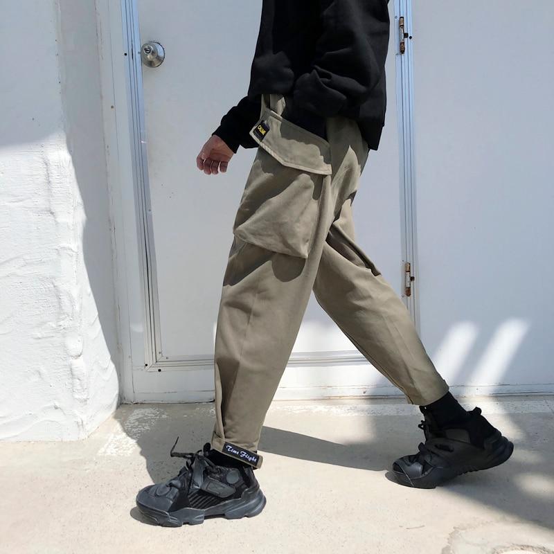 Pantalones Velcro Green Versión Grande 2019 Estilo Bolsillo Engrosamiento Black Fiesta De army Coreana Hombres Nueva Harlan Tendencia Casual Los Primavera Pie qqwpRzOaxB