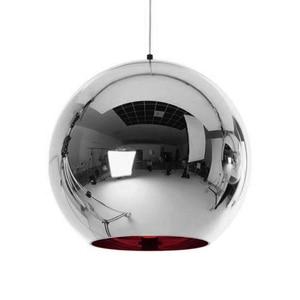 Image 4 - Coquimbo Globe pendentif lumières cuivre verre miroir boule suspension lampe cuisine moderne luminaires suspendus lumière