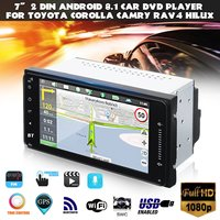 Android 6.0 Car Stereo Sat Nav GPS WIFI Radio Fits For Toyota Corolla Hilux RAV4