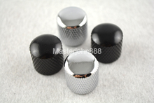 2pcs of Electric Guitar Metal Control Knobs Volume&Tone For TL