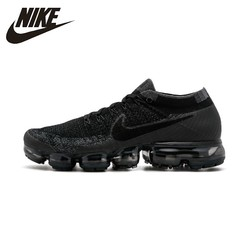 NIKE AIR VAPORMAX FLYKNIT Comfortable Running Shoes Men's Breathable Sneakers Sports Shoes #849558-007