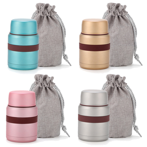 Image 2 - 4 Colors for hot food 350mL with containers thermos Thermoses stainless steel mini lunch box thermo mug Vacuum Flasks