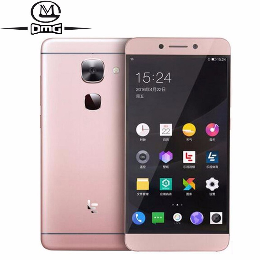 "Letv LeEco Le 2X520 Snapdragon 652 Octa Core 4G Smartphone 3GB RAM 64GB ROM 5.5 ""HD 16MP identification d'empreintes digitales téléphone Mobile double SIM"