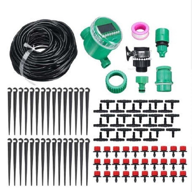 25m Micro Drip Bewässerung Controller System Tropf Kit Wasser Timer Automatische Bewässerung Elektronische Sprinkler Anlage Landwirtschaft