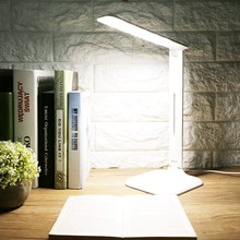 USB Charging Flexible Neck Table Lamp LED Desk Lamp Light Dimmable Touch Switch Night Reading Lamp For Bedroom Student(China)