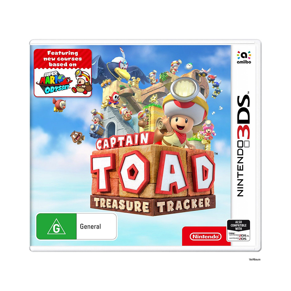 Game Deals Nintendo Captain Toad Treasure Tracker New Nintendo 3DS transparent separate protective clear white soft tpu case skin cover for new nintendo 3ds ll xl