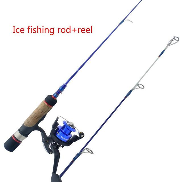 Special Price Ice Fishing Set Rod Reel Combo Medium Light Fast Action Multi-Species Walleye Perch Panfish Bluegill Crappie Glass Fiber