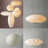 Modern Silk Chandelire Staircase Danish Dining Hall Bar Clothing Shop Pendant Lamp Lantern Lampshade Restaurant Tatami Lustre