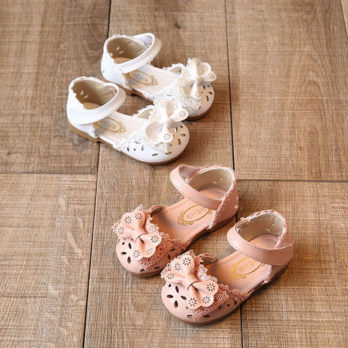 Baby Princess Garden Shoes Cute Toddler Newborn Infant Baby Girl Lace Shoes Anti-Slip Soft Sole Shoes