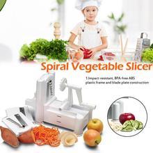 3 в 1 многофункциональная кухонная спиральная овощерезка Spiralizer Veggie Cutter спагетти макаронные изделия кухонная поставка