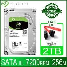 Seagate 2 TB Harde Schijf Schijf HDD Desktop Interne HD 2000 GB Harddisk 7200 RPM 256 M Cache 3.5