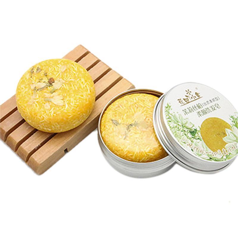 12 couleurs 55g savon fait à la main shampooing à la cannelle et au gingembre shampooing Bar 100% shampooing cheveux purs outil de soin des cheveux 40