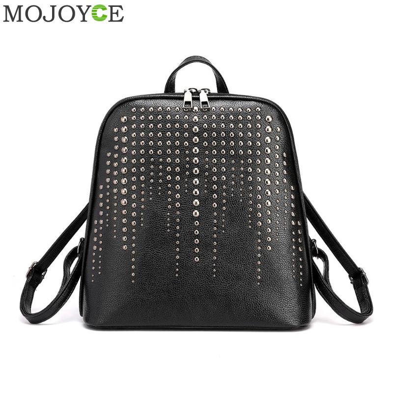 Vintage Backpack Female Brand Leather Women's Backpack School Bag For Girl Leisure Shoulder Bag For Women Mochila 2019
