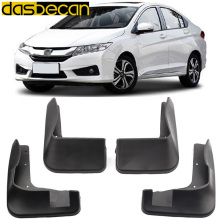 Dasbecan Car Mudguards CITY 2008 2015 2008-2015 For Honda Fender Accessories Splash Guard Paneling 2009 2010 2011 2012