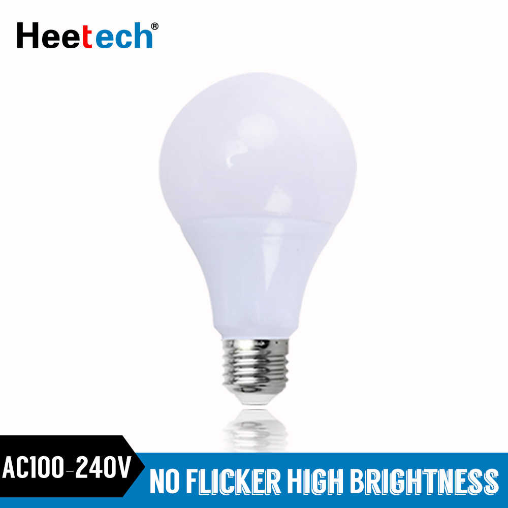 E27 LED Bulb LED Lamp 3W 5W 7W 9W 12W 15W 18W Lamps Lampada  Spotlight Table Lamp LED Light Blubs Bombillas AC 110V 220V 240V