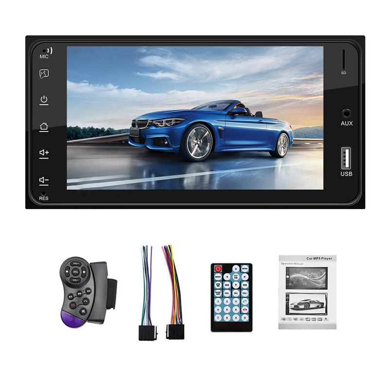 7 Inch HD Touch Screen font b Car b font Multimedia Player Auto MP3 MP5 Player