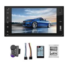 7 pollici HD Touch Screen Car Multimedia Player Auto MP3 MP5 Lettore Bluetooth FM Radio Auto Per Toyota Corolla Specchio supporto di collegamento