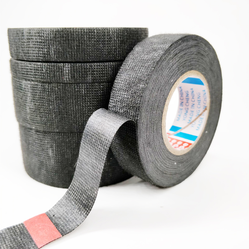 Image 5 - New Tesa Type Coroplast Adhesive Cloth Tape For Cable Harness Wiring Loom  Width 9/15/19/25/32MM Length15M-in Tape from Home Improvement
