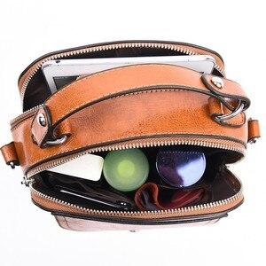 Image 5 - 2019 Small Crossbody Bag For Women Leather Shoulder Bags Bolsas Feminina Small Messenger Bags Female Sac A Main Ladies Bag New