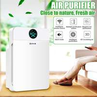 Air Purifiers HEPA Remote Control Formaldehyde LCD Display Timer Low Noise 220V Home Office Dust Filter Fresh Air Cleaner