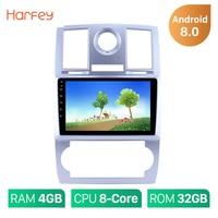 Harfey 1Din Android 9.0 9 Multimedia Player Car Radio For 2004 2005 2006 2007 2008 Chrysler Aspen 300C Wifi Head Unit
