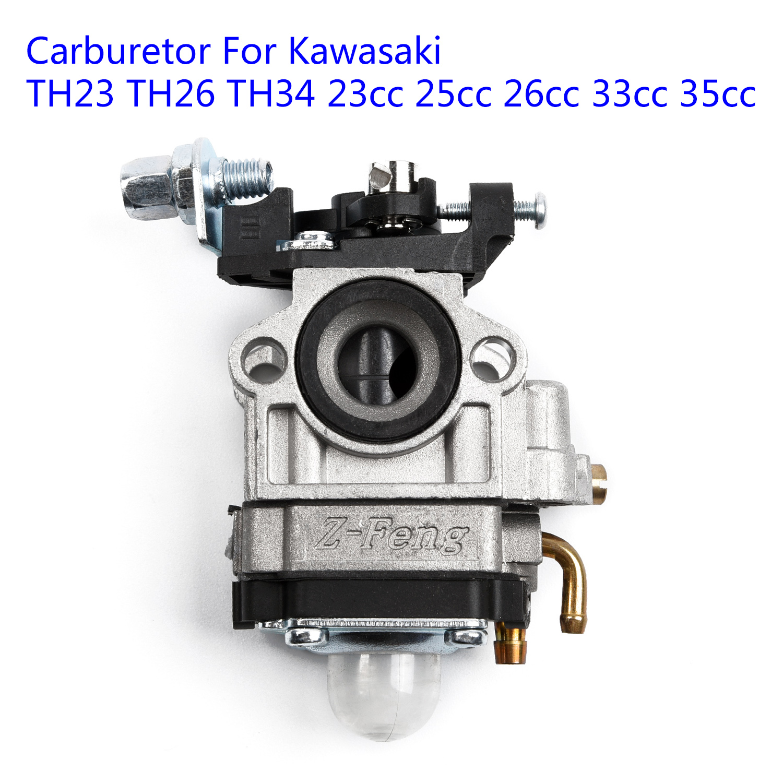 Carburetor Set For Kawasaki TH23 TH26 TH34 23cc 25cc 26cc 33cc 35cc Engine PartCarburetor Set For Kawasaki TH23 TH26 TH34 23cc 25cc 26cc 33cc 35cc Engine Part
