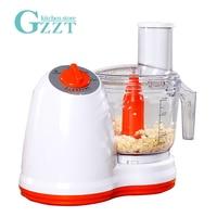 GZZT Vegetable Cutter Potato Julienne Carrot Shredder Slicer Garlic Pepper Meat Grinder Electric Vegetable Choppers 500W