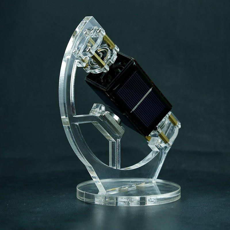 Levitación magnética Mendocino Motor Solar inclinado tipo Panel Solar levitando inclinación soporte modelo educativo juguetes de equipo - 4