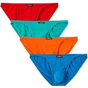 Image 2 - 4pcs \ הרבה גברים תחתוני תחתוני גברים של במבוק סיבי תחתוני תחתוני תחתונים קצרים נוחים עבור גברים סקסי תחתונים