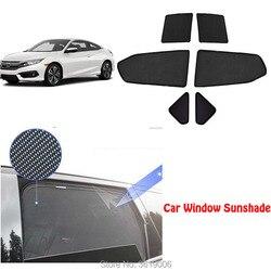 6pcs High-end custom Voor Honda Accord 2018-19 magnetische auto gordijn zonnescherm auto venster schaduw auto styling
