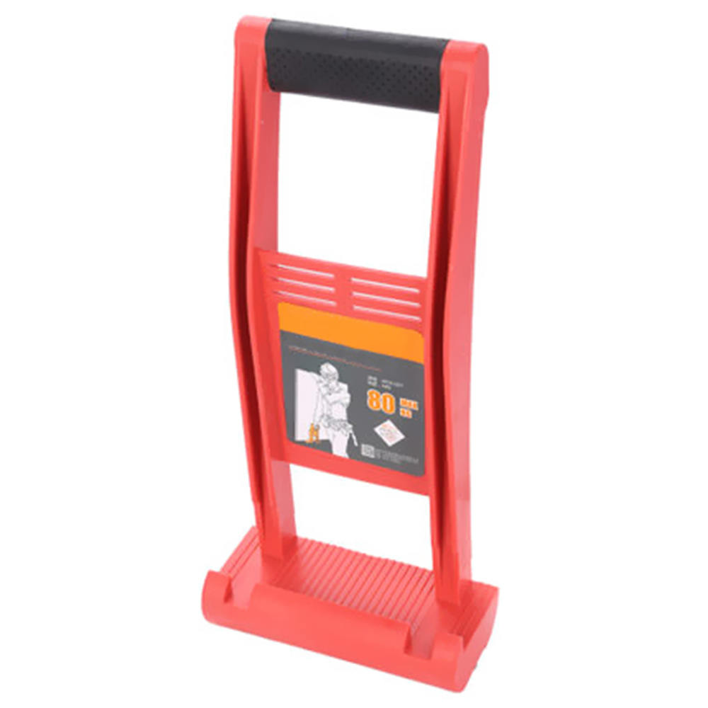Red 80kg Plate Lifter Plasterboard ABS Engineering Plastic Lifter Tool For Wood Flagstone Handling Tool