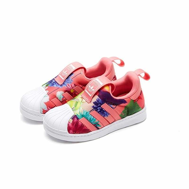 Trifoglio Adidas Scarpe Per Bambini Originale Luce Traspirante Bambini Runningg Scarpe Confortevole scarpe Da Tennis di Sport # CQ2578