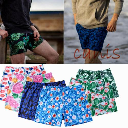 Summer Men Boy Swimming Board Trunks Swim Surfer Shorts Swimwear Beachwear Pants Beach Shorts