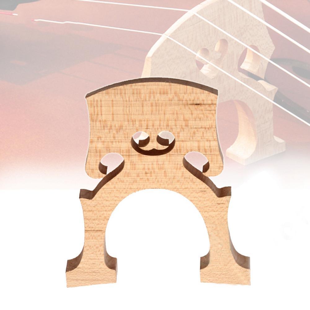 Exquisite Wooden Bridge Professional Cello Bridge For 4/4 3/4 1/2 1/4 1/8 Size Cello Musical Instruments Wooden Set