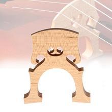 Exquisite Wooden Bridge Professional Cello Bridge for 4/4 3/4 1/2 1/4 1/8 Size Cello Musical Instruments Wooden Set 5 pieces nylon cello tailgut lightweight durable and of exquisite craftsmanship for 3 4 4 4 cello parts accessories black