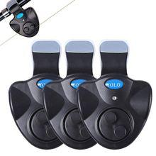 BMDT-YOLO электронный рыболовный укус светодиодный индикатор звуковая сигнализация клип на удочку обернутый