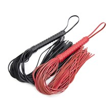 Genuine Leather Whip Manual Weave Sexy Bondage Flog Flirting Slap Spanking Queen Whip Exotic Accessories With Tassel Sex Toys genuine leather red heart spanking paddle wand rod whip lash strap flog slap flap beat stick sm adult game sex toy for couple