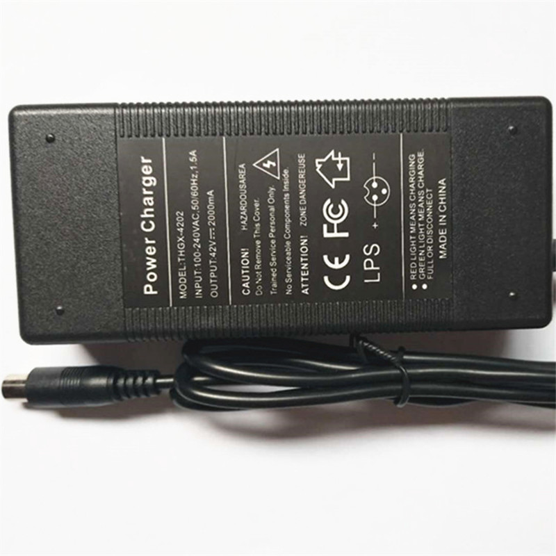 42V 2A LED Battery Charger Charging for Xiaomi M365 Segway