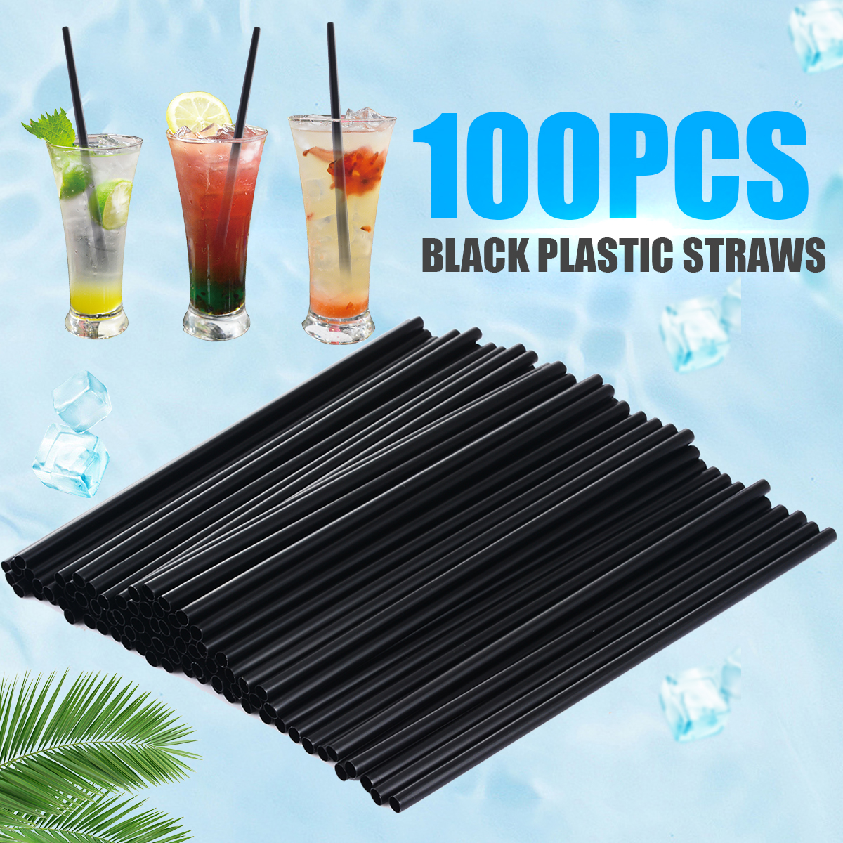 Mayitr 100Pcs lot Plastic Mini Cocktail Straws DIY Party Straw 3mm Drinking Straw For Celebration Drink Decor Drink Tools in Drinking Straws from Home Garden