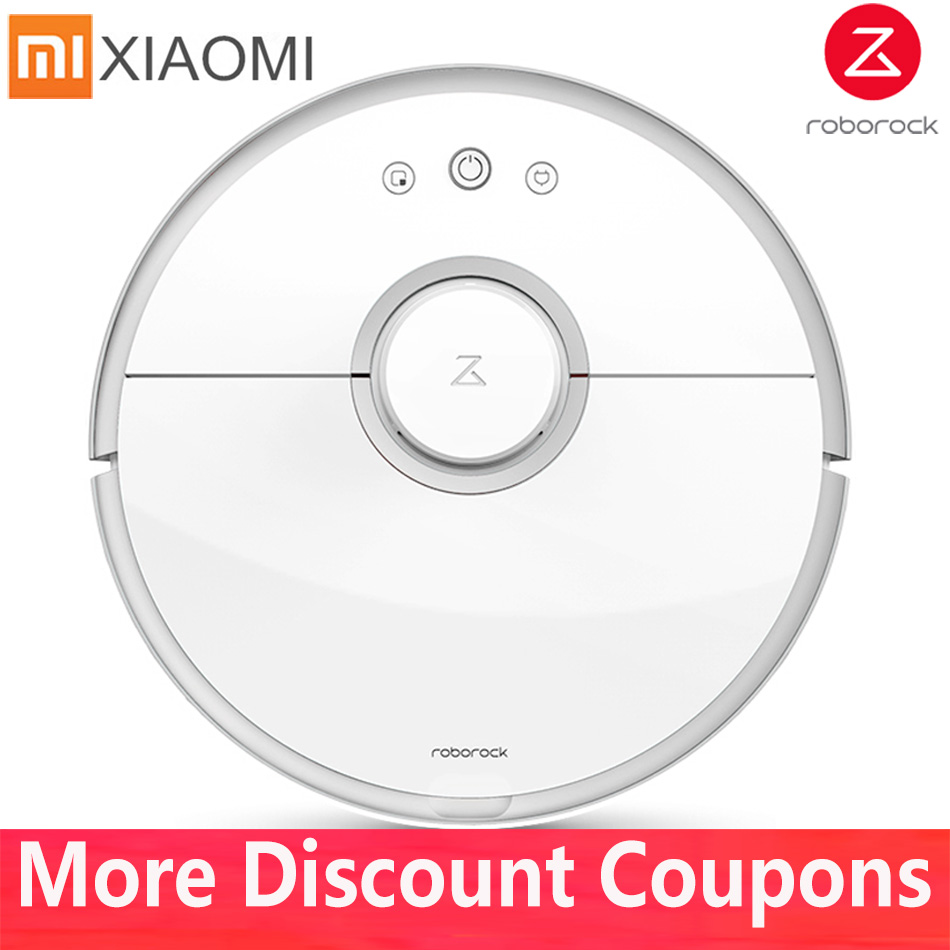 <font><b>Xiaomi</b></font> Mi Vacuum Cleaner <font><b>Roborock</b></font> <font><b>S50</b></font> S51 S55 Robot Vacuum Cleaner Wet Mopping Cleaning Mihome Mijia APP Contral Original China image