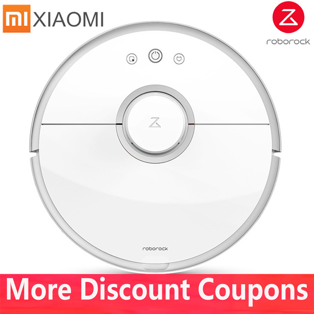 Xiaomi Mi Vacuum Cleaner Roborock S50 S51 S55 Robot Wet Mopping Cleaning  Mihome Mijia APP Contral Original China