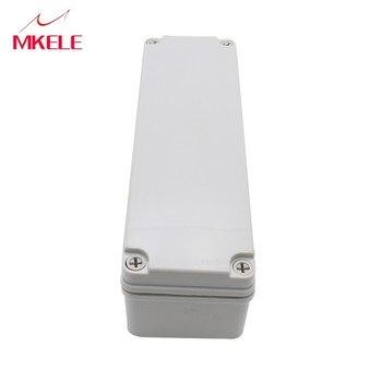 1 Stks Weiß 250*80*70 Mm DIY Projekt Abs Kunststoff Doos Voor Elektronica Kleine Desktop Verdrahtung Verbindung box M3-250807