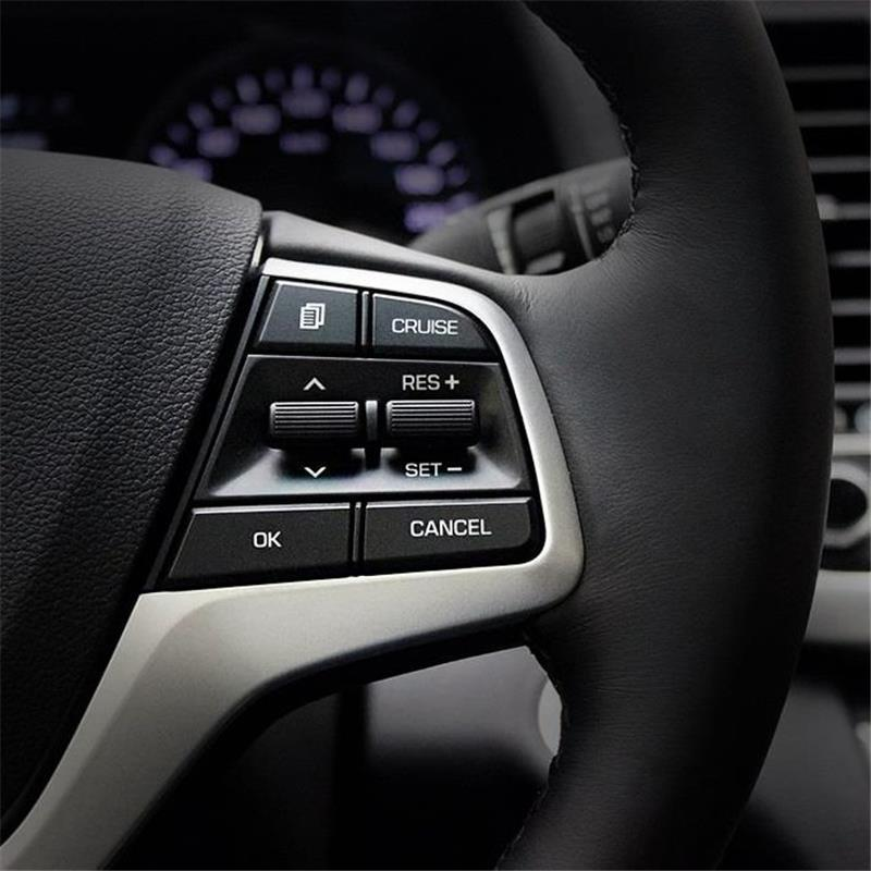 Control system Dashboard interior Excent auto bright sequins parts trim car styling accessory 16 17 FOR