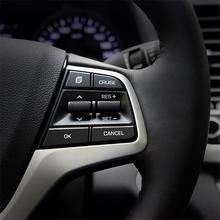 Управление системы для украшения приборной панели Excent Авто яркими блестками запчасти отделкой Тюнинг автомобилей аксессуар 16 17 для hyundai Elantra