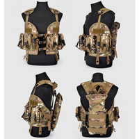 Special training vest Tactical Battle vest CS field equipment Carrying tools outdoors Multi function
